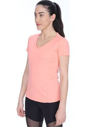 Sportive 710193-Pnk Spo-Flakestop Kadin T-Shirt Pembe