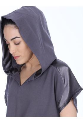 Sportive 710618-Ant Spo-Satbagform Kadin T-Shirt Antrasit
