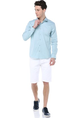 fedc65f524a98 ... Manche Mint Takma Patlı Pensli Premium Gömlek Me19S110009 ...