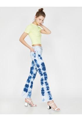 b7ed348fc8028 Mavi Kadın Pantolonlar Modelleri ve Fiyatları & Satın Al