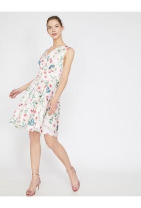 b09a9d0c5c248 Koton Desenli Elbise Koton Desenli Elbise ...