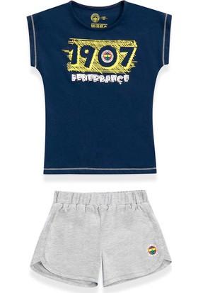 Fenerbahçe Kız Çocuk Şortlu 2'Li Takım Lacivert