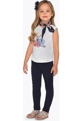 Mayoral Kız Çocuk Pantolon Lacivert 555