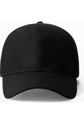 Köstebek Düz Siyah Şapka