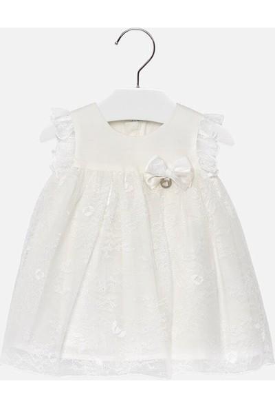 Mayoral Yazlık Kız Bebek Dantel Elbise 1909