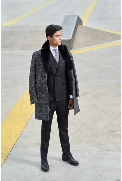 Giovane Gentile Erkek Takım Elbise Siyah