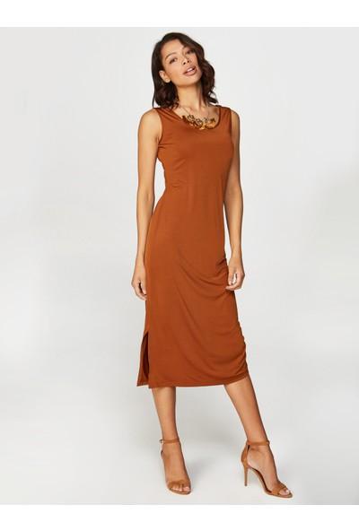 Faik Sönmez Bağcık Detaylı Elbise 38267