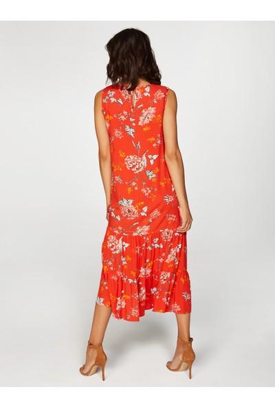 Faik Sönmez Çiçek Desenli Elbise 38493