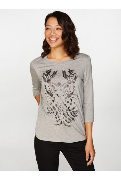 Faik Sönmez Baskılı T-Shirt 38755