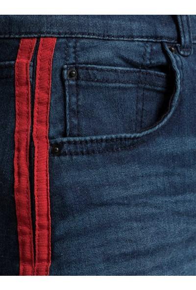 LTB innie Red Striped Double Line Wash Kadın Etek