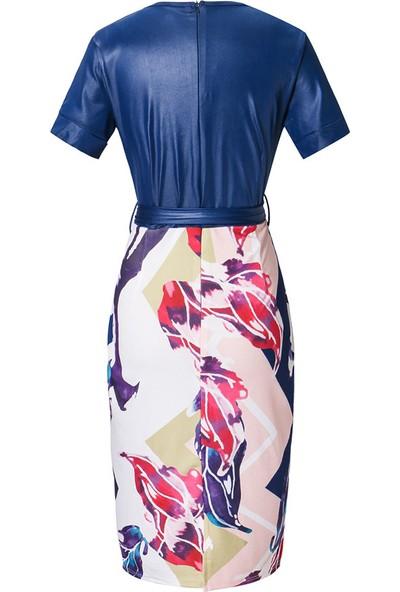 GOB2C Diz Üstü Yaz Elbisesi