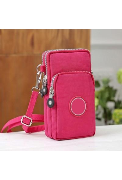 GOB2C Cep Telefonları için Saklama Torbaları Çantalar Çok Amaçlı Omuz Makyaj Cüzdan Crossbody Çanta