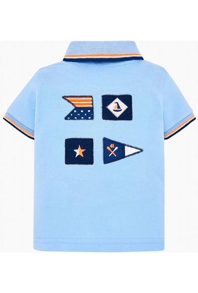 Mayoral Kısa Kol Polo T-Shirt Cristal 1117