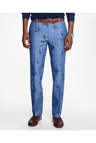 Brooks Brothers Yat Desenli Chino Pantolon