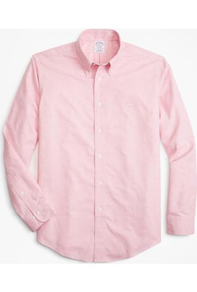 Brooks Brothers Non-Iron Regent Kesim Oxford Gömlek