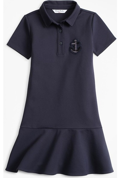 Brooks Brothers Polo Yaka Çocuk Elbise