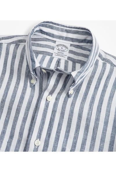 Brooks Brothers Regent Kesim Keten Gömlek