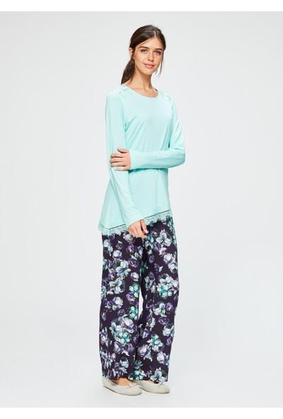 Dagi Kadın Pijama Takımı Mint