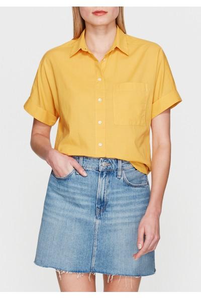Mavi Sarı Gömlek
