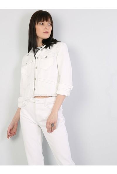 Colin's Beyaz Kadın Ceket