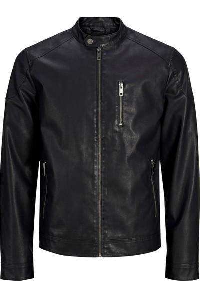 Jack & Jones 12154284 Erkek Jcobalı Pıu Jacket Ceket Black