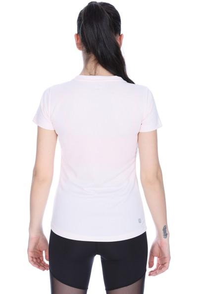 Sportive 710193-Nde Spo-Flakestop Kadin T-Shirt Ten (57)