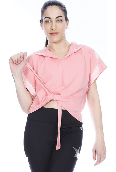 Sportive 710618-Pnk Spo-Satbagform Kadin T-Shirt Pembe
