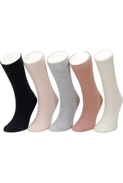 I Cool Basic 5Li Skt-G Pembe Multi Kız Çocuk Çorap