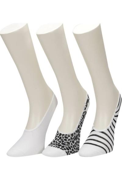 Miss F Zebra 3 Lu Suba-W S Kadın Çorap