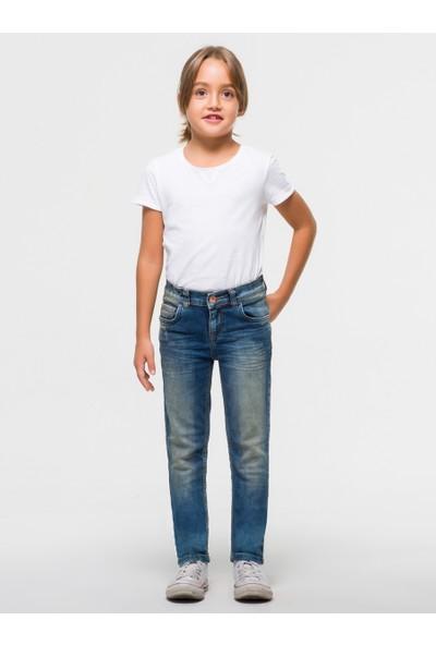 LTB İsabella G Burrel X Wash Kız Çocuk Pantolon