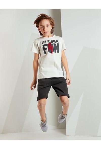 Mushi Erkek Çocuk Super Fun Şort Takım