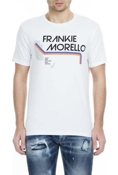 Frankie Morello Erkek T-Shirt FMCS9047TS W02