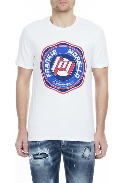 Frankie Morello Erkek T-Shirt FMCS9050TS W02