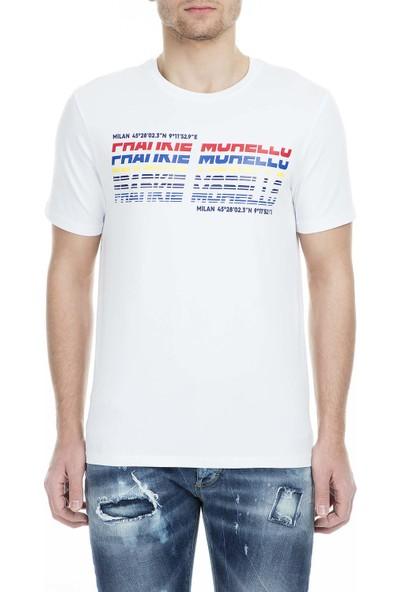 Frankie Morello Erkek T-Shirt FMCS9052TS W02