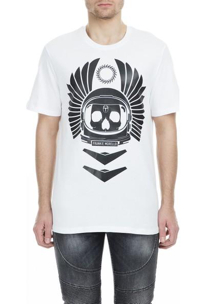 Frankie Morello Erkek T-Shirt FMCS9135TS W02