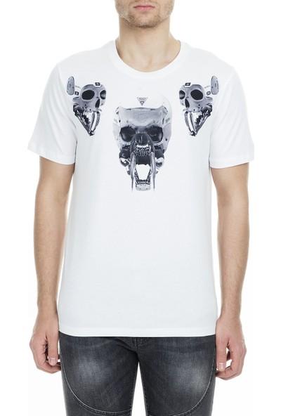 Frankie Morello Erkek T-Shirt FMCS9148TS W02