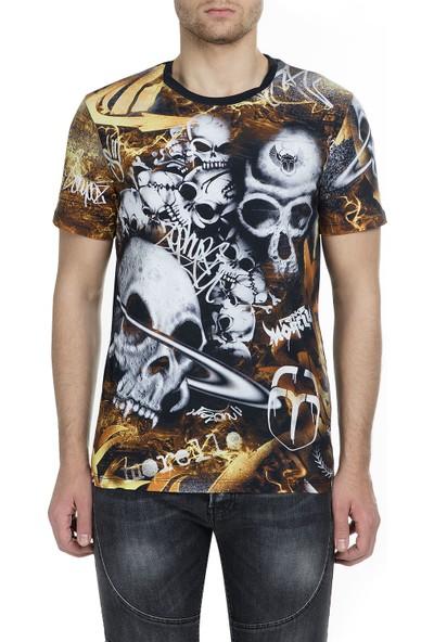 Frankie Morello Erkek T-Shirt FMMS9019TS N01
