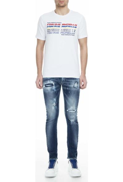 Frankie Morello Jeans Erkek Kot Pantolon FMCS9044JE B02