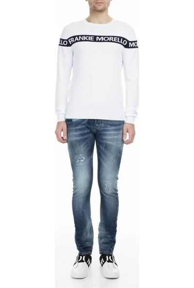 Frankie Morello Jeans Erkek Kot Pantolon FMCS9045JE B02