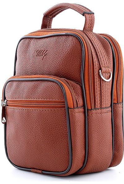 My Luggage Önü İki Bölmeli Erkek Çapraz Askılı Çanta 30030