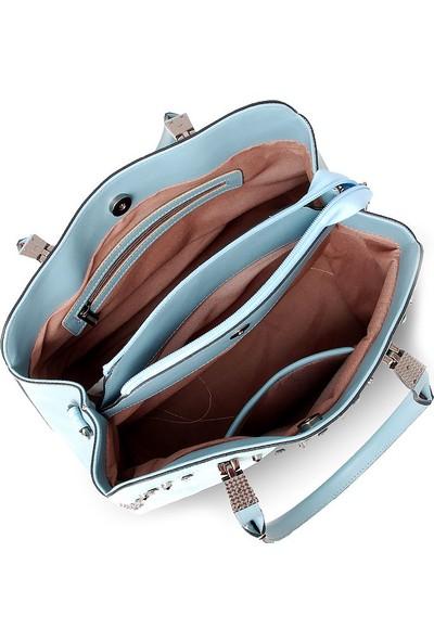 Axpe Taş Kaplamalı Kadın Çantası 8Y321-03