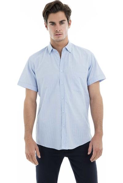 Buratti Kısa Kollu Gömlek Erkek Kısa Kollu Gömlek 50131