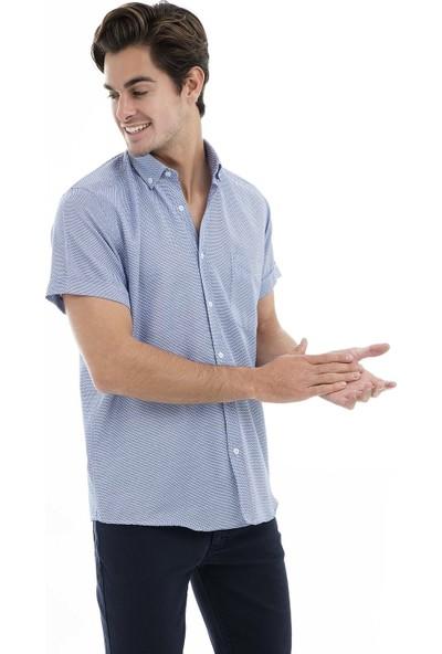 Buratti Kısa Kollu Gömlek Erkek Kısa Kollu Gömlek 50135