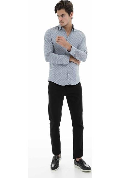 Buratti Uzun Kollu Gömlek Erkek Uzun Kollu Gömlek 50106