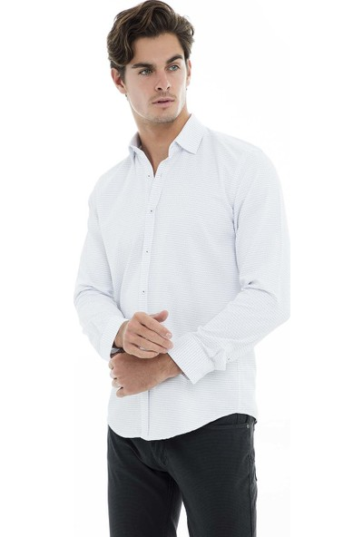Buratti Uzun Kollu Gömlek Erkek Uzun Kollu Gömlek 50121
