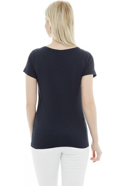 Jacqueline De Yong Jdychicago Ss Print Top 02 19 Jrs T Shirt Kadın T Shirt 15172085