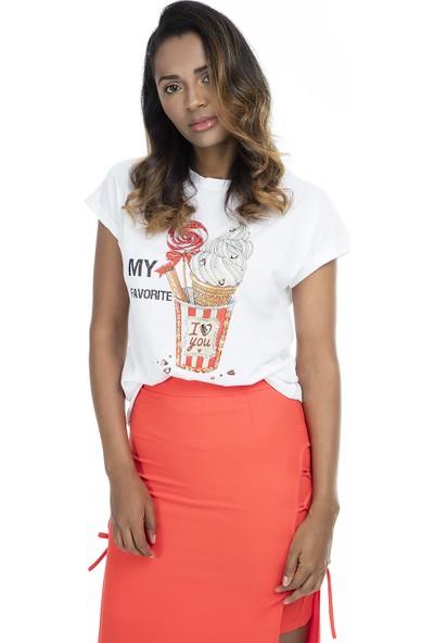 Mint T Shirt Kadın T Shirt 4245084