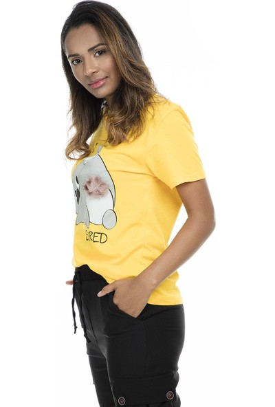 Pepper & Mint Kadın T-Shirt 504CD25