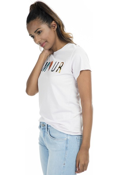 Pepper & Mint T Shirt Kadın T Shirt 504Cd28
