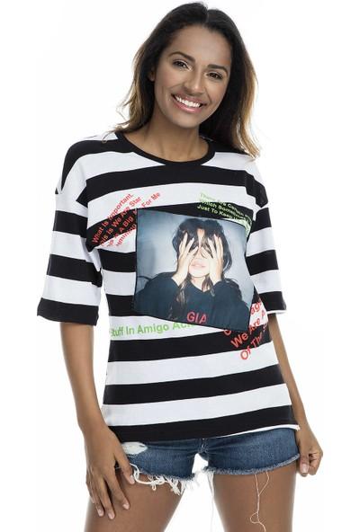 Quzu T Shirt Kadın T Shirt 23418505